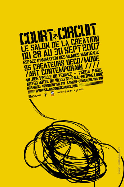 Flyer Court-Circuit Septembre 2007