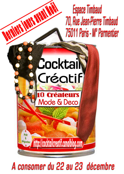 Flyer Cocktail Créatif NOV 2007